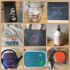 Bestickerde producten